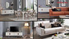 Mobila eleganta Full Concept Rita alb fildes Concept, Cabinet, Interior, Furniture, Design, Home Decor, Cots, Clothes Stand, Decoration Home