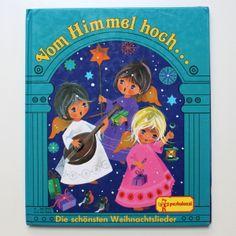 ♥ Weihnachtslieder Kinderbuch ♥ Pestalozzi ♥ von Retro Püppi auf DaWanda.com