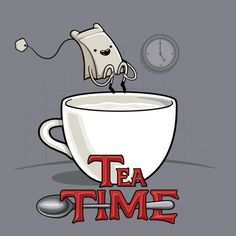 ¡Hora del te!