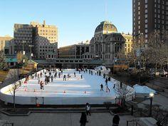 Kennedy Plaza Skating Center, Providence, Rhode Island