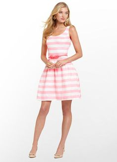 Minus the hideous belt. But I love the pink and white stripes.