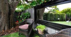 Espejos en el jardín: cómo usarlos