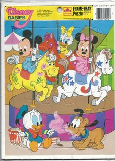 Disney Babies Golden Frame-Tray Puzzle