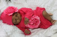 nisha crockett dolls | GORGEOUS REBORN ETHNIC AA BIRACIAL BABY GIRL~TANYA BY GUDREN LEGLER ...