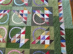 Basket Quilt Pieced by Denissa Schulman Quilted by Jessica's Quilting Studio