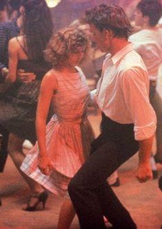 Baby and Johnny (Patrick Swayze & Jennifer Grey) 80s Movies, Iconic Movies, Classic Movies, Good Movies, Movie Tv, Amazing Movies, Love Movie, Dirty Dancing, Dancing Couple