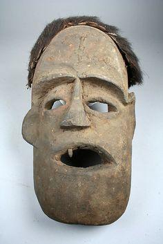 Mask (Nka) 19th–20th century Cameroon