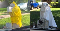 """""""My Neighbor Has This Manatee Mailbox He Dresses Up Throughout The Year And I'm Kind Of Obsessed With It"""""""