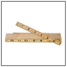 Klein Tools Wood Folding Ruler-Outside Reading - 901-6