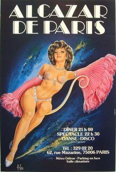 Alcazar de Paris Cabaret, one of the best shows I've seen in 80's