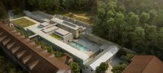 Francisco Mangado-Led Team Wins Thermal Bath Competition in Southern France,Courtesy of Francisco Mangado