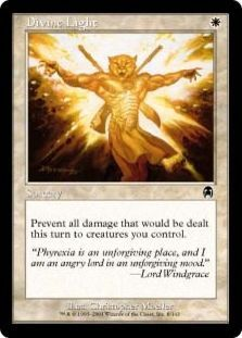 Magic: The Gathering Card - Divine Light. Newly added on Colnect. @ http://colnect.com/aff/da_1/trading_card_games