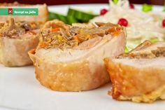 Plněné krůtí rolky Baked Potato, Potatoes, Baking, Ethnic Recipes, Food, Potato, Bakken, Essen, Meals