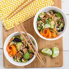 Thai Tofu noodle salad