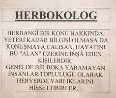 HÜLYACA YORUMLAR: HERBOKOLOG