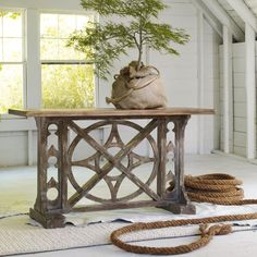 cool console table
