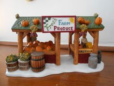 Department 56 New England Village Farmers Market,Set of 2