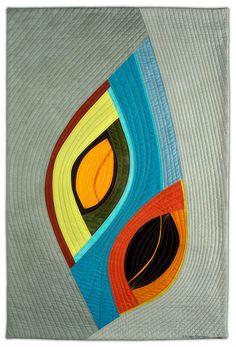 Gallery 2: Portals and Chrysalises - Valerie Maser-Flanagan Fiber Artist