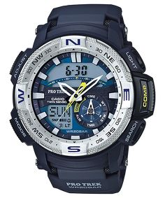Casio Protrek Watches - Designed for Durability. Casio Protrek - Developed for Toughness Forget technicalities for a while. Let's eye a few of the finest things about the Casio Pro-Trek. Casio Protrek, G Shock Watches, Casio G Shock, Sport Watches, Watches For Men, Men's Watches, Watches Online, Patek Philippe, Stylish Watches
