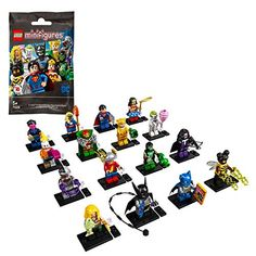 LEGO 71026 Minifigures DC Super Heroes Series Collectible Toy, Variety of Styles (Style Picked at Random) - 1 Unit Buy Lego, Lego Dc, Superman, Batman, Lego For Kids, Lego Photo, Lego Models, Iconic Characters, Lego Super Heroes