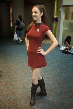 Star Trek Ensign - Christy Marie | Flickr - Photo Sharing!