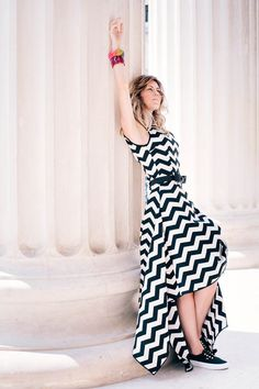 Outfit - striped dress | Fashion trends spring summer 2015 | Fashion photography | Street style Crazy Day, Spring Fashion Trends, Spring Summer 2015, Moscow, Dress Fashion, Striped Dress, My Outfit, Cool Photos, Fashion Photography