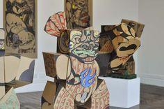 A nod to the past: Atua, transformer and the kaupapa of Reweti Arapere Maori Designs, Jr Art, Maori Art, Public Art, Contemporary Art, Sculptures, The Past, Art Gallery, Totem Poles