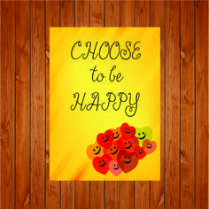 The product Choose To Be Happy Print is sold by Personally Graphic in our Tictail store.  Tictail lets you create a beautiful online store for free - tictail.com