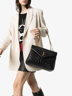 Boutiques, Women's Crossbody Purse, Ysl Bag, Saint Laurent Bag, Looks Chic, Big Bags, Black Cross Body Bag, Medium Bags, Stylish Outfits