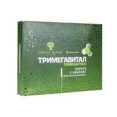Скидка -15%! Тримегавитал. Бораго и амарант (Trimegavitals. Siberian borage/amaranth) 365 руб.