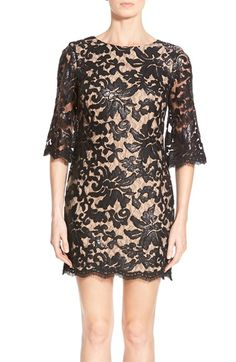 Dress the Population Sequin Lace A-Line Dress | Nordstrom
