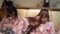 Yukirin, Tomochin and Takamina, taking a break #AKB48