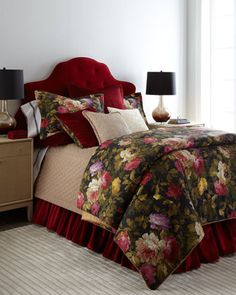 love this rich red bedding http://rstyle.me/n/s4pydr9te