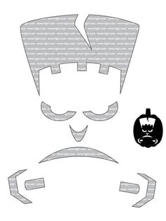 Beginner Halloween Pumpkin-Carving Templates.  Can't wait to try them out!