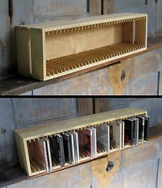 sideboard cd storage books pinterest wohnzimmer. Black Bedroom Furniture Sets. Home Design Ideas