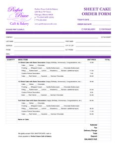 wedding cake consultation form template free downloadable catering contracts forms catering 22226