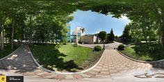 3D панорама территории санатория 30 лет победы, одна из самых старых, но смотрится еще норм.