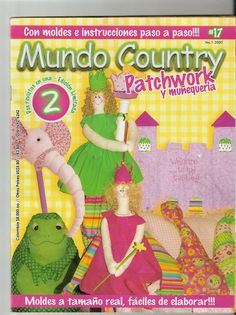 Revista Mundo Country Patchwork