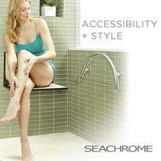 Walk In Shower Designs, Grab Bars, Bath Accessories, Master Bathroom, Bathrooms, Art Pieces, How To Make, Style, Toilets
