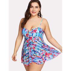 Chicloth Push Up Cut Out Two Piece Bikini Set Plus Size Underwire Bikini Set Sale, Plus Size Bikini Set, Plus Size Swimwear, Summer Pool Party, Plus Size Beauty, Swim Dress, Color Blocking, Tankini, Swimming