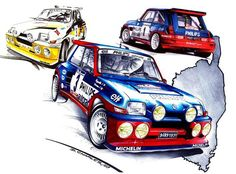 Sport Cars, Race Cars, Renault Sport, Turbo Car, Automotive Art, Rally Car, Cool Cars, Racing, Trucks