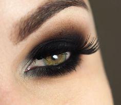 O esfumado preto ideal para cada tipo de olho