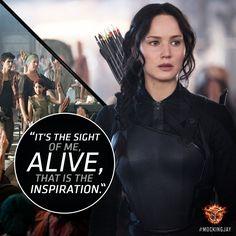 """Power. I have a kind of power I never knew I possessed."" - Katniss Everdeen, #Mockingjay"