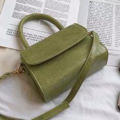 Pearl Top Handle Square Bag