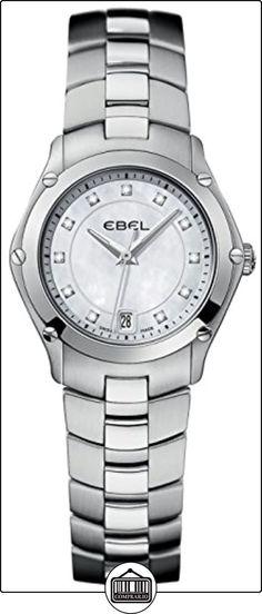 EBEL Classic Sport 1215982 - Reloj mujer de cuarzo, acero inoxidable, incrustaciones de diamante.  ✿ Relojes para mujer - (Lujo) ✿