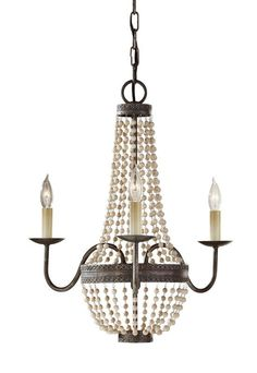 View the Murray Feiss F2755/3 Charlotte 3 Light Single Tier Chandelier at LightingDirect.com.
