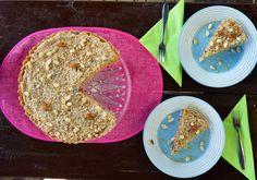 Fantastický medovo-orieškový koláčik za pár minút - Fitshaker Cheesecakes, Hummus, Bread, Ethnic Recipes, Food, Brot, Essen, Cheesecake, Baking