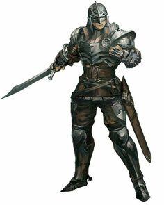 Fighter Warrior - Pathfinder PFRPG DND D&D d20 fantasy