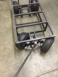 Engel and Battery Trolly Welding Trailer, Welding Cart, Diy Welding, Welding Tools, Welding Art Projects, Metal Projects, Garage Tools, Garage Workshop, Homemade Trailer