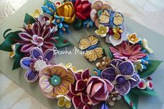 cheerful wreath от bmileticquilling на Etsy